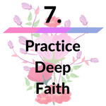 practice deep faith icon image for how to manifest money