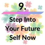 step into your future self icon image for how to manifest money