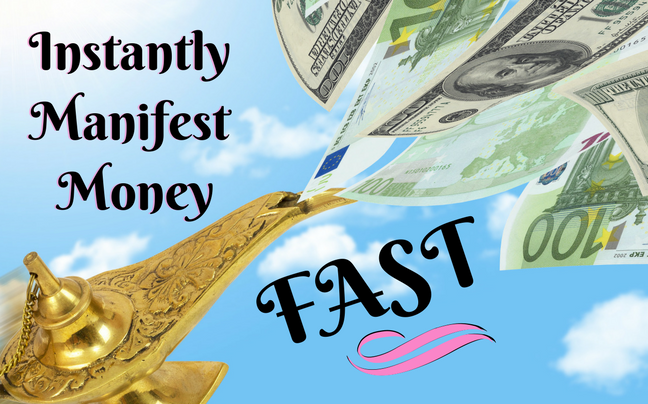 Manifest Money Fast: Awesome Manifestation Trick